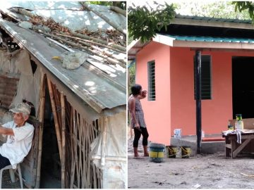 Advocates Build Nice Home for Old Man Who Lived in Shack