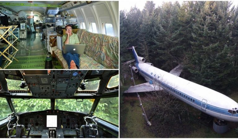Man Converts Boeing 727 into a Functional Home